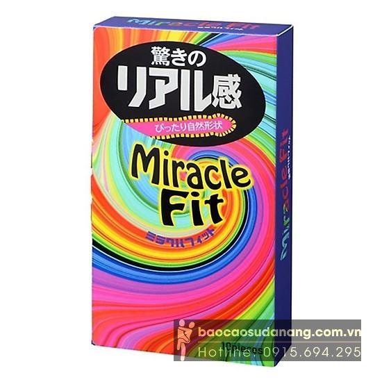 Bao cao su Sagami Miracle Fit Hộp 10 bao bán Đà Nẵng