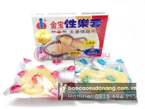 Bao cao su gai Gold Bao Gai