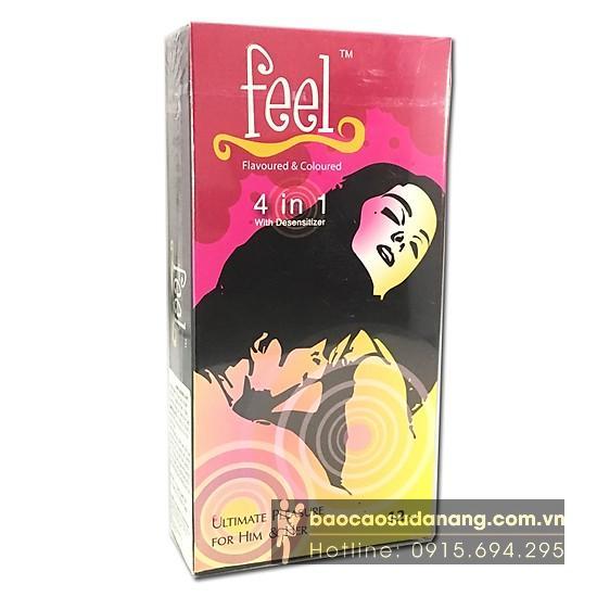 Bao cao su Feel 4 in 1 bán Đà Nẵng