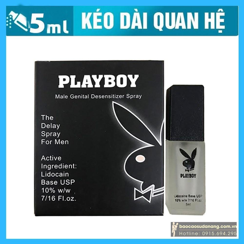 Chai xịt Play boy