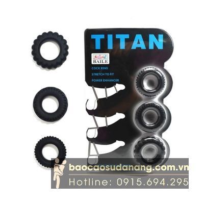 Vòng đeo dương vật Cockring Titan